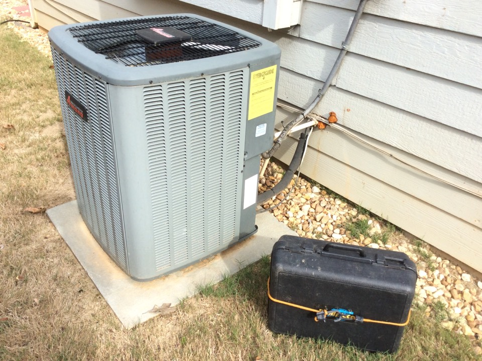 Stone Mountain, GA - Annual service on an Amana air-conditioning system