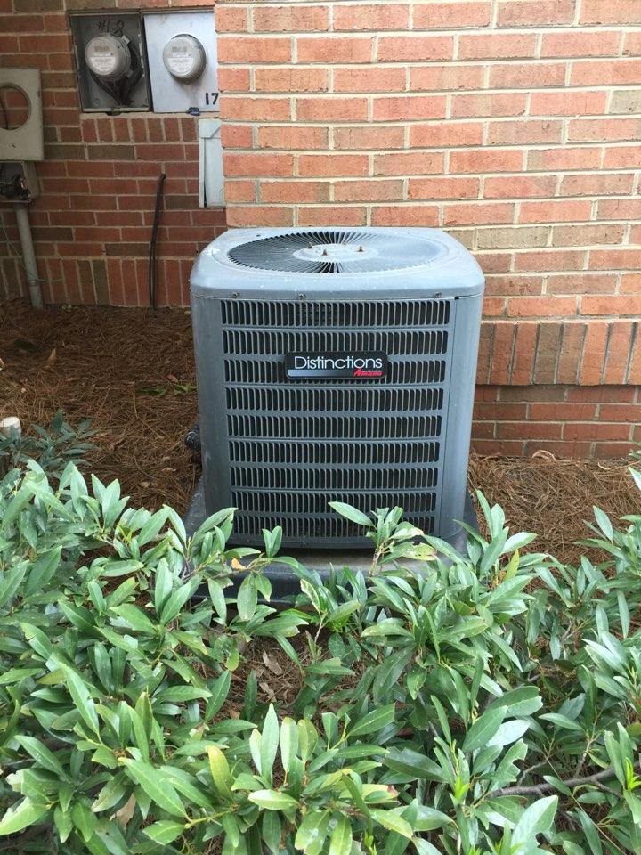 "Dunwoody, GA - ""New air-conditioning system in Atlanta today"