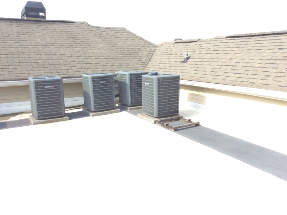 Dunwoody, GA - Annual service on a GOODMAN Air-conditioning system