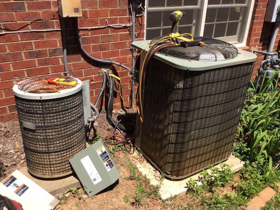 McDonough, GA - Air conditioner service repair