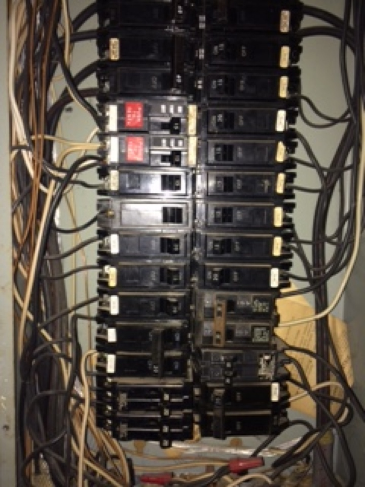 Hiram, GA - Electrical repair checked panel