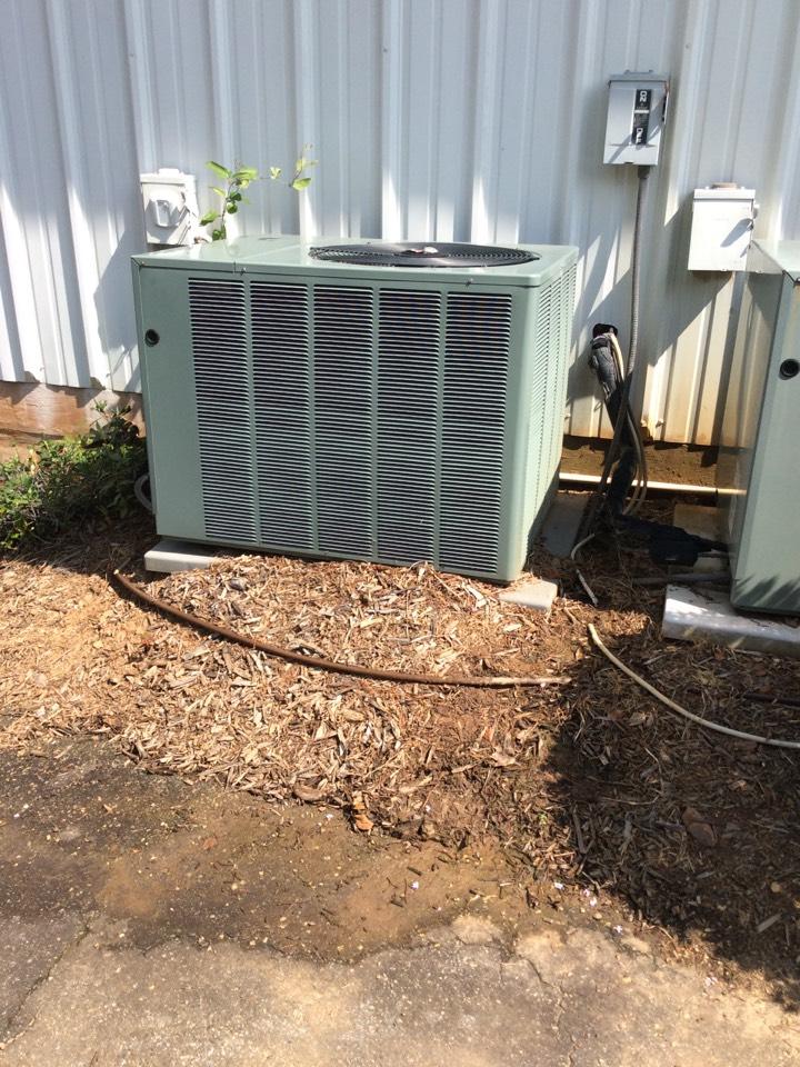 Duluth, GA - Rheem heat pump maintenance