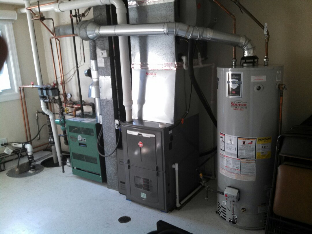 Willow Springs, IL - Boiler, furnace and humidifier clean and check for a customer in willow springs