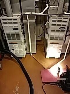 Lemont, IL - Carrier furnace and aprilaire humidifier maintenance in Lemont