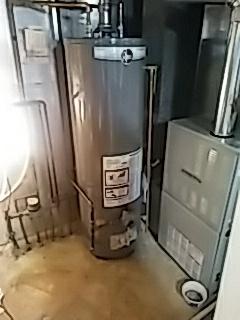 Woodridge, IL - Rheem water heater installation in Woodridge
