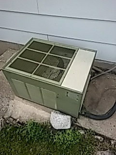 Addison, IL - Old Rheem air conditioning repair in Addison