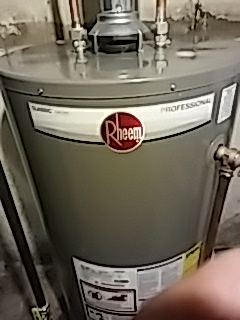 Rheem water heater repair in Downers Grove