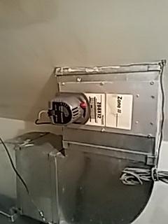Repair Honeywell zoning damper
