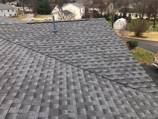 Morgantown, WV - New GAF Pewter Grey Roof installed