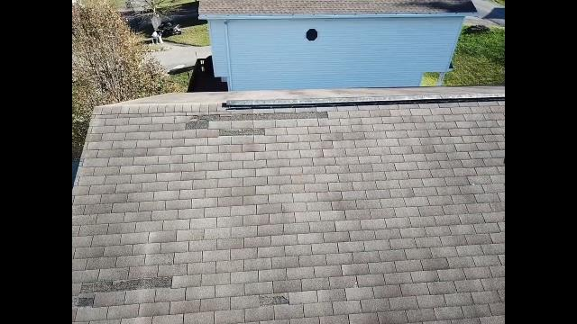 Morgantown, WV - Recent Storm Damage, Wind Damage. Installing New Roof replacement.  Best roofing contractor morgantown Wv. GAF Master Elite Roofing Contractor