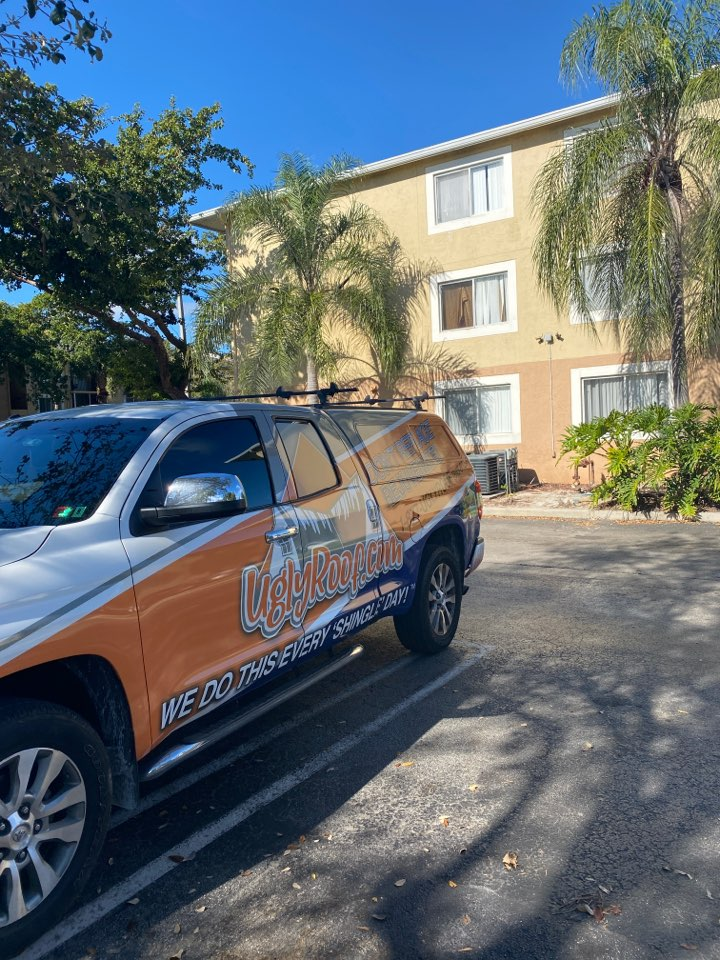 Lake Worth, FL - Roof inspection for a full roof replacement by the best roofing contractor near you
