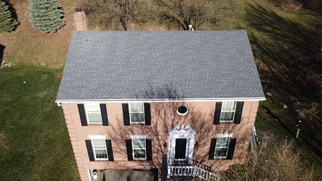 Bethel Park, PA - GAF Timberline HDZ in Pewter Gray in Bethel Park, PA. by Pittsburgh's best roofing company, Meredith Home Improvements