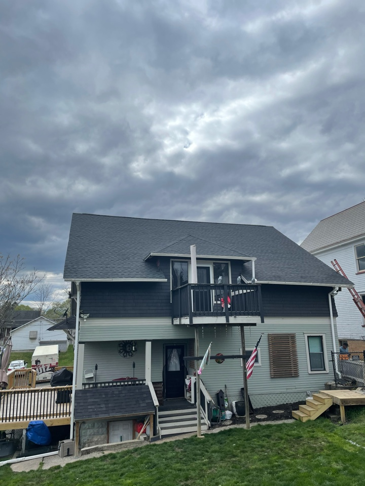 Fairmont, WV - Just finished this install of GAF Charcoal Timberline HDZ shingles in Fairmont, WV. Best roofing contractor in town!