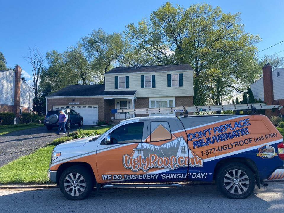 Bethel Park, PA - Roof inspection for a GAF timberline HDZ asphalt shingle roof replacement by the best master elite roofing contractor near you