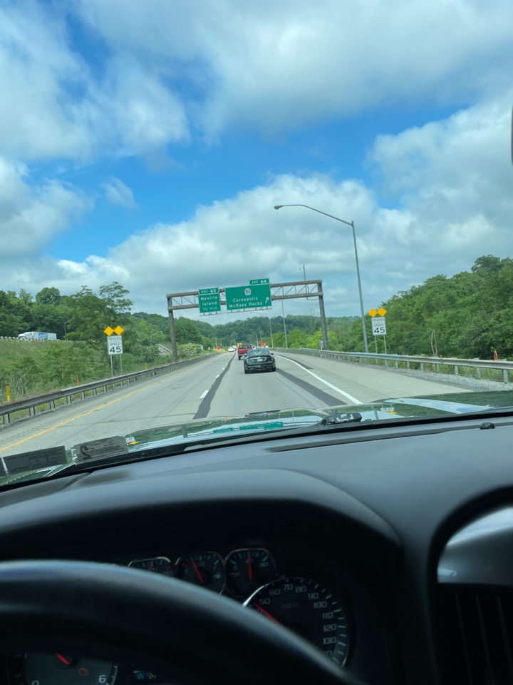 Coraopolis, PA - En route to a roof estimate fir gaf master elite installer MHI