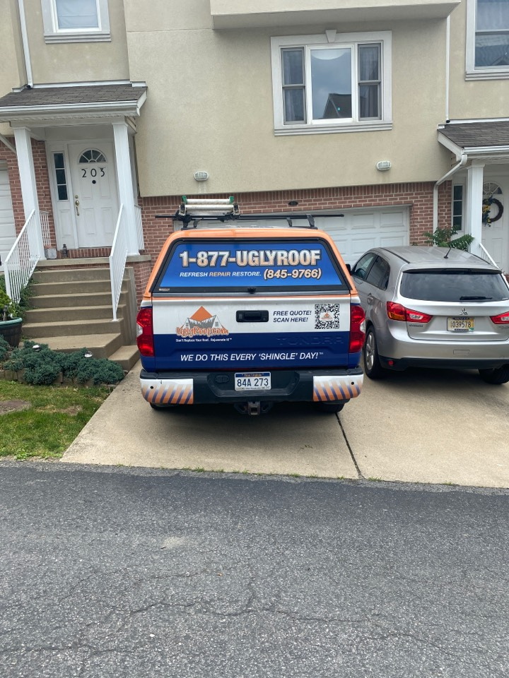 Morgantown, WV - Roof inspection for a roof repair leaking around the pipe boot performed by the best master elite roofing contractor near you
