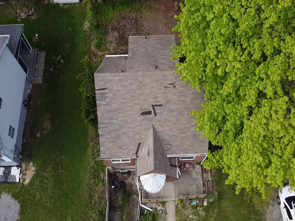 Carnegie, PA - Roof inspection after a wind storm. Need to get it fixed and taken care of. Your roof is your 1st line of defense get a roofer near me that's certified MHI Roofing