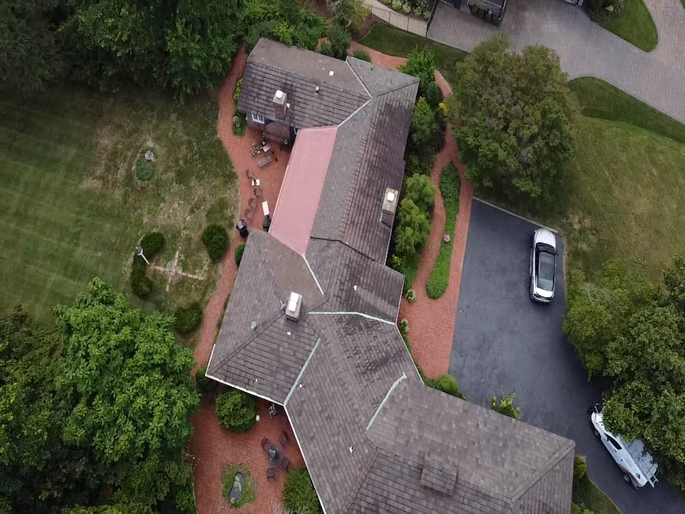 Carnegie, PA - Roof replacement on clay tile roof. Using 50 year GAF system. Never worry about your roof call MHI roofing