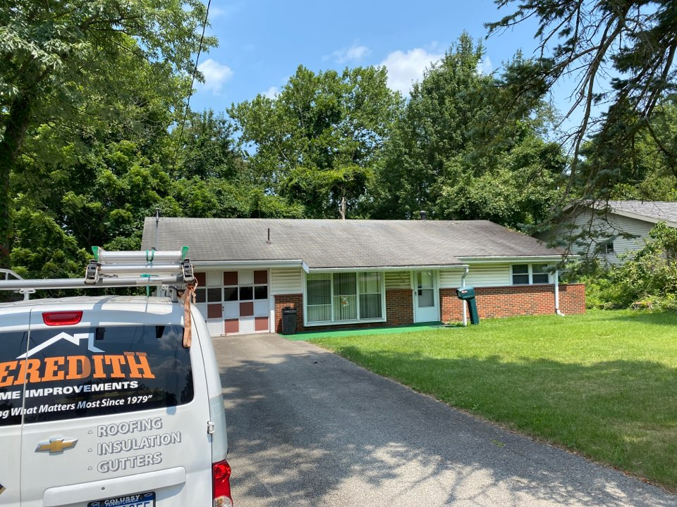 Monroeville, PA - Inspecting a home for roof replacement as a GAF Master Elite contractor in Pittsburgh Pa.