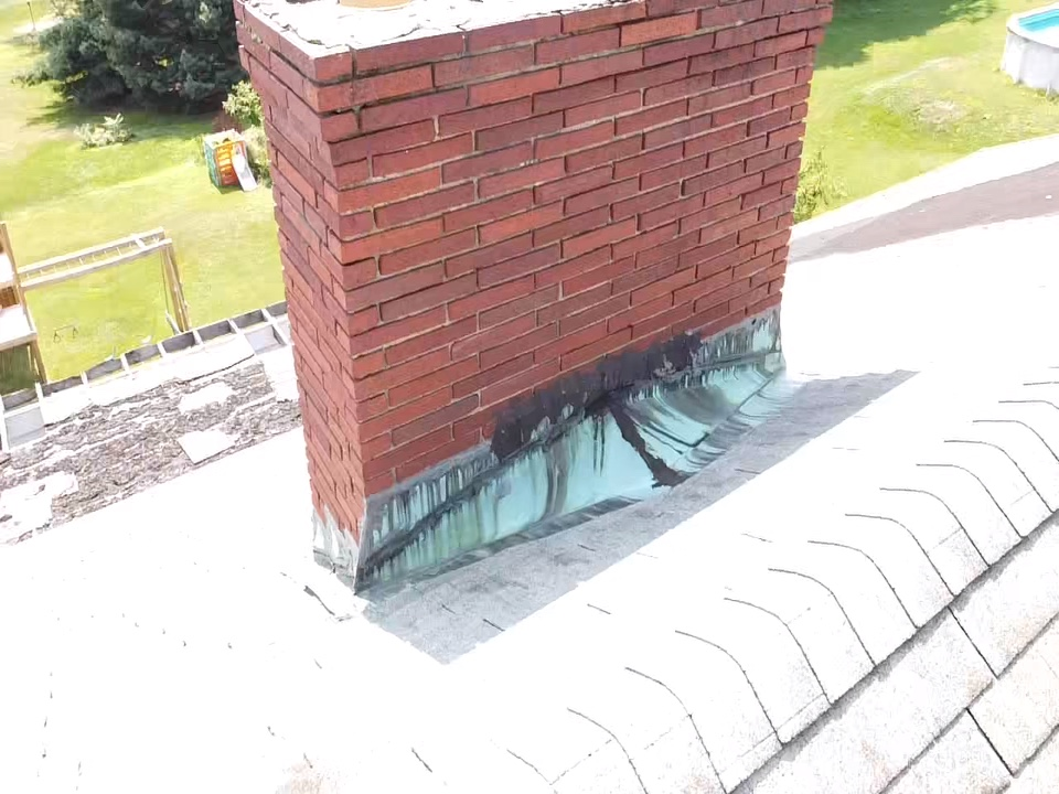 Morgantown, WV - Chimney inspection for MHI roofing in Morgantown. Call us today for a free inspection