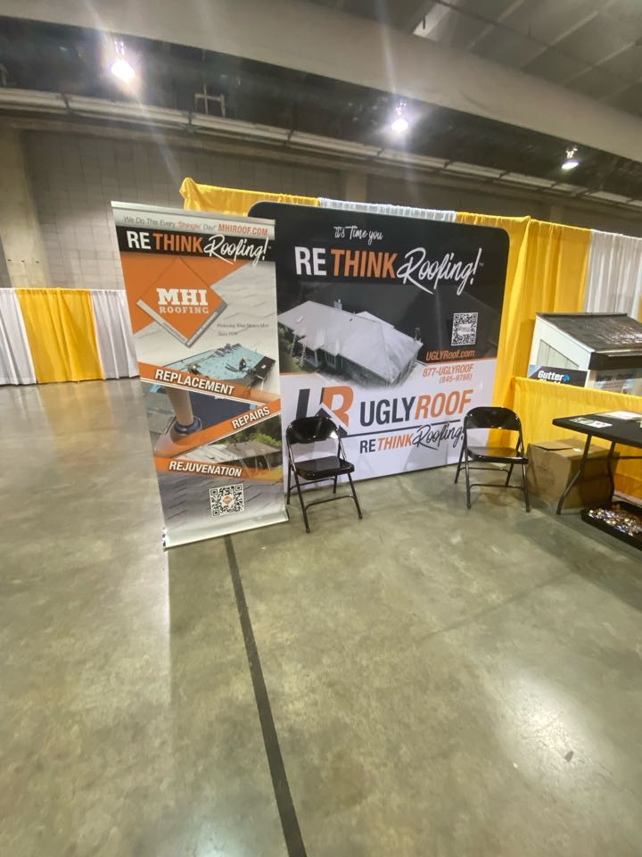 Pittsburgh, PA - Come see MHI Roofing and UglyRoof down at the Pittsburgh Home and Garden Show
