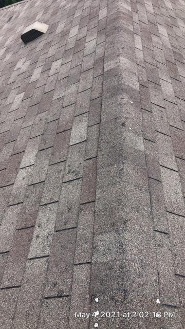 Pflugerville, TX - Roof replacement insurance claim for hail damage.  Installed GAF Timberline HDZ shingle to replace the 3-tab shingle.
