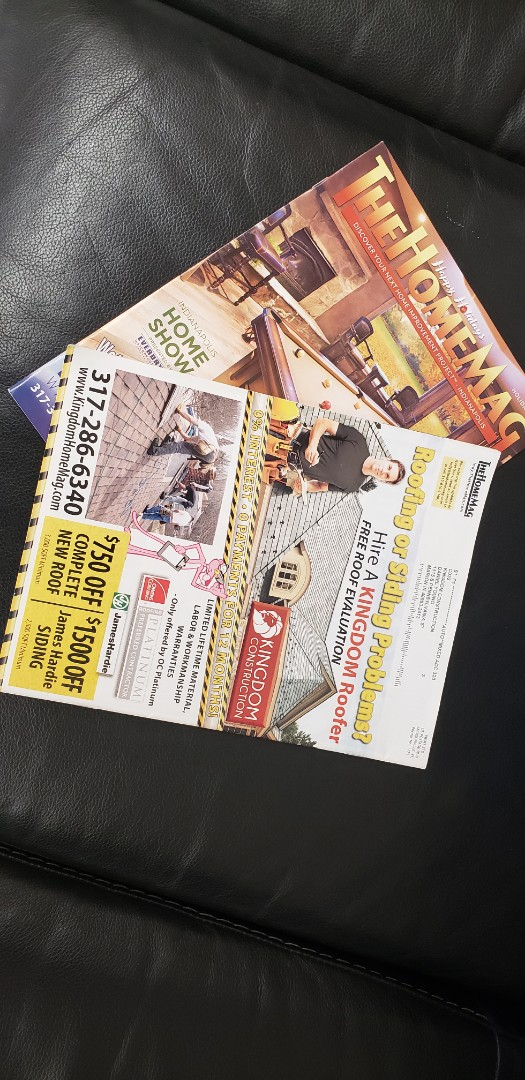 Kingdom construction was featured on the back cover of the Indianapolis Home Mag again last month. We are super proud to be displayed in the highest quality Home Magazine in Indiana. Thanks for choosing Kingdom for this spot!