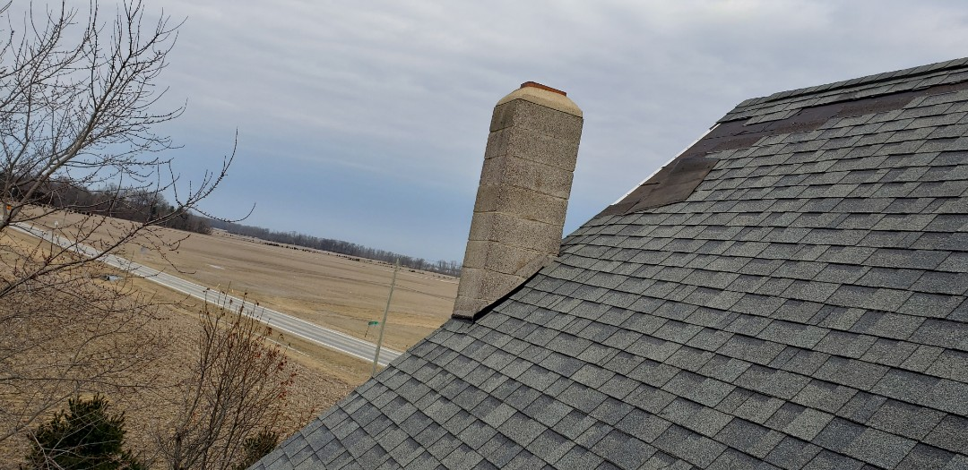Marion, IN - This roof was just replaced in 2010. The homeowner has the biggest national insurance co who paid for 1/2 the roof even though the shingle was obsolete. This forced the homeowner to find a contractor to work for 1/2 of fair market value to replace the entire roof. They cut every corner possible and now the homeowner is losing shingles left and right. Who is in your corner? Kingdom would have got the entire roof bought then and we will now! We help our clients unlike some insurance carriers.