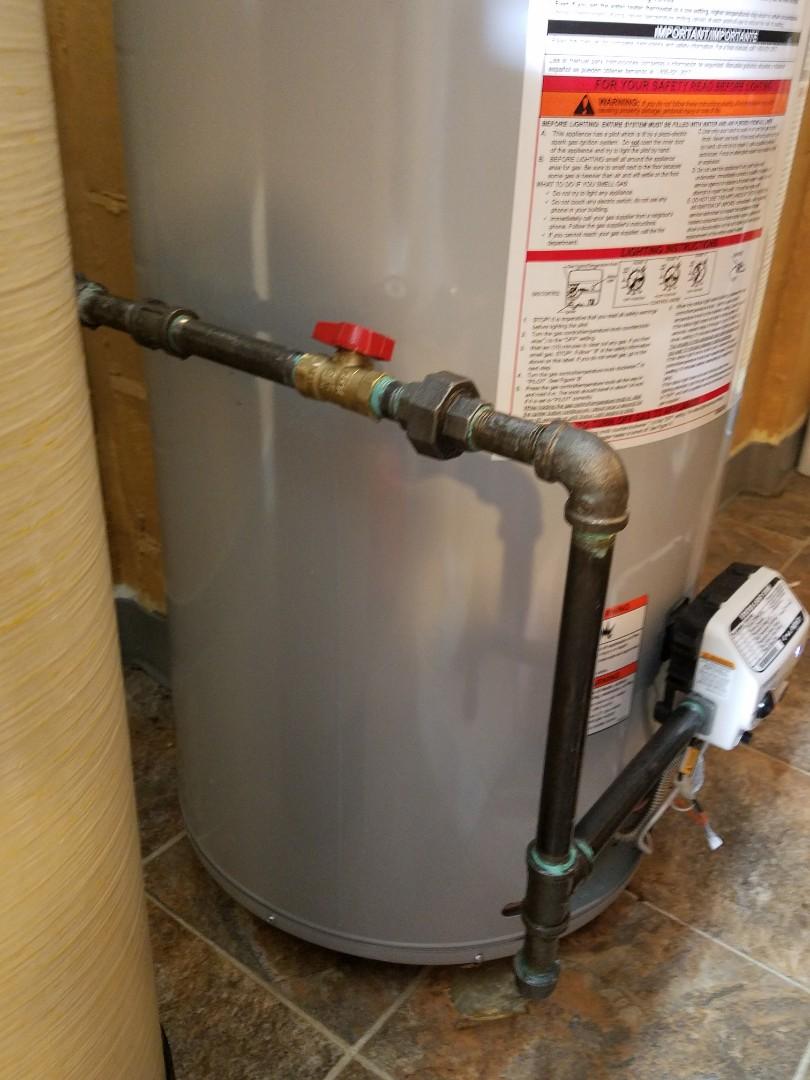 Battle Creek, MI - State water heater install