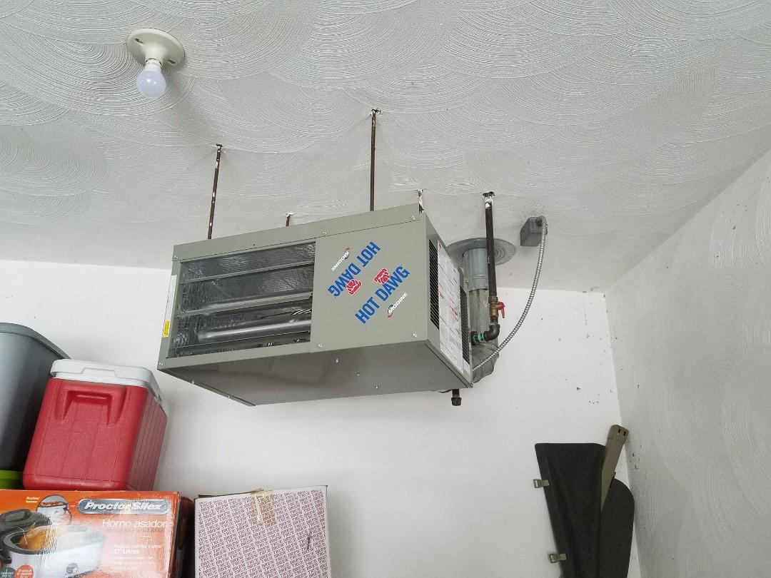 Battle Creek, MI - Modine unit heater Install