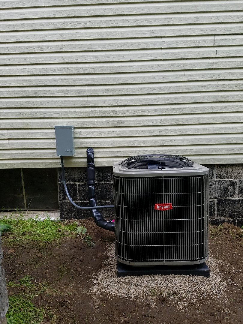 East Leroy, MI - Bryant air conditioner installation