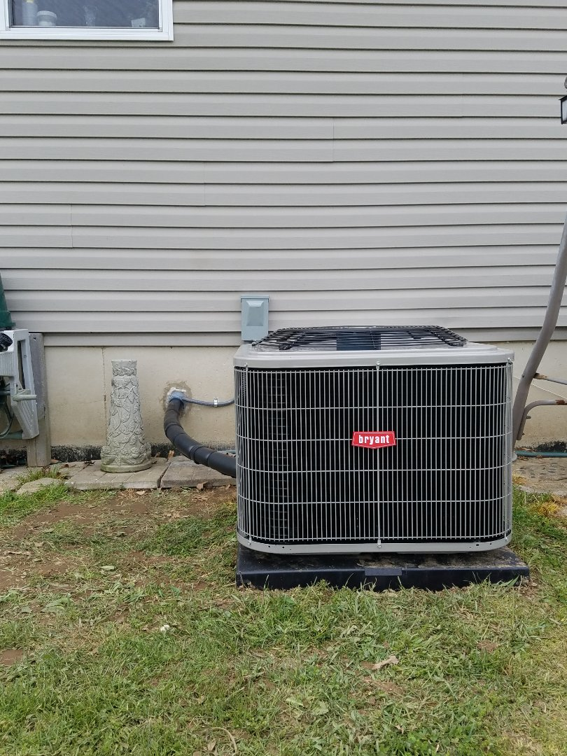Homer, MI - Bryant high efficiency air conditioner installation