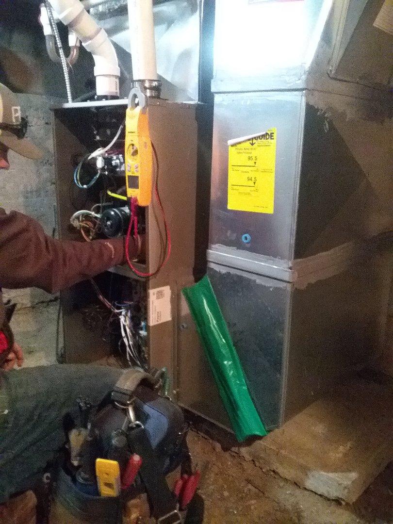 Tekonsha, MI - Payne furnace tune up