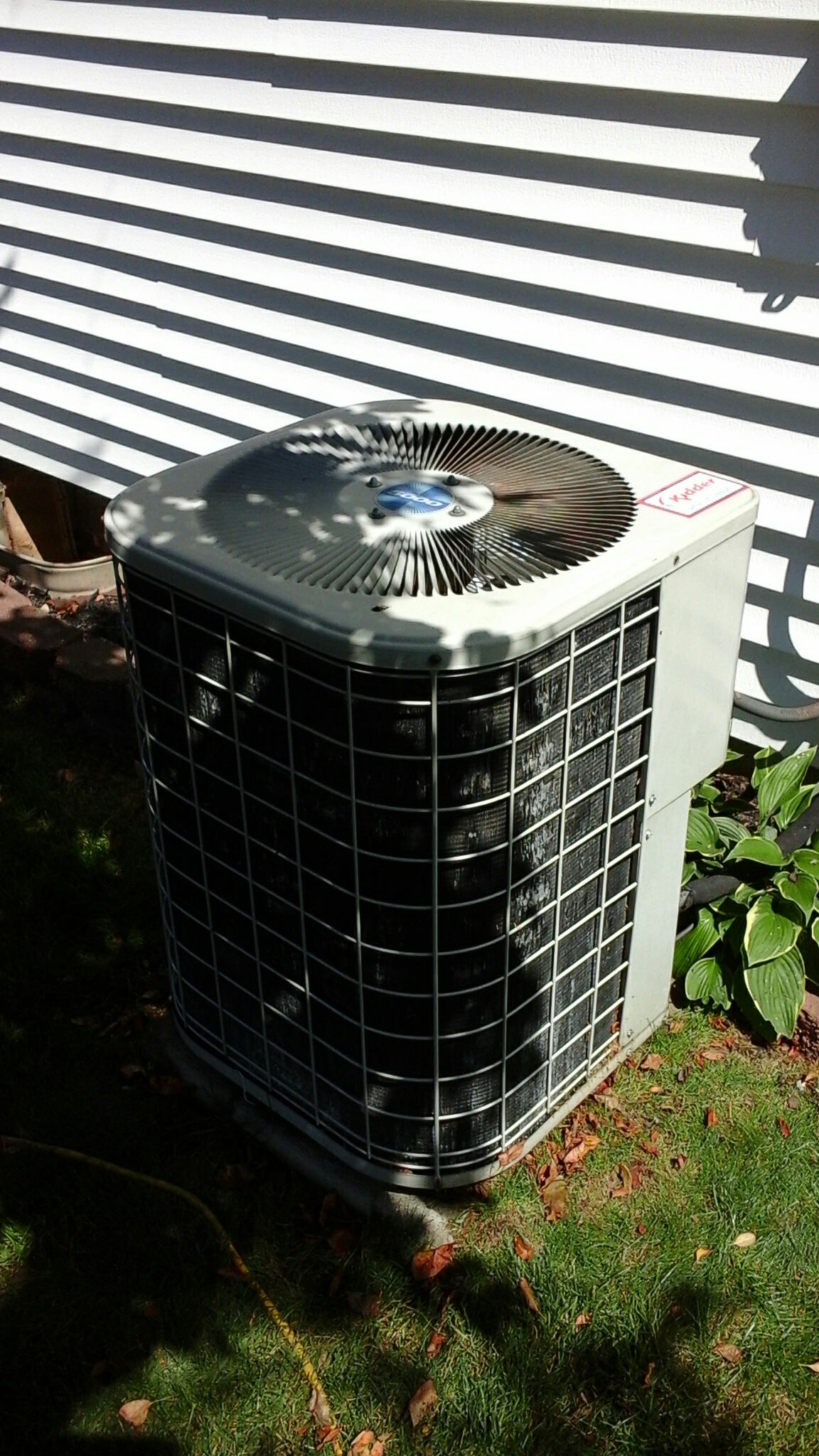 Concord, MI - Performed a precision tune-up on a international air conditioning unit with R - 22 refrigerant and replaced the capacitor.