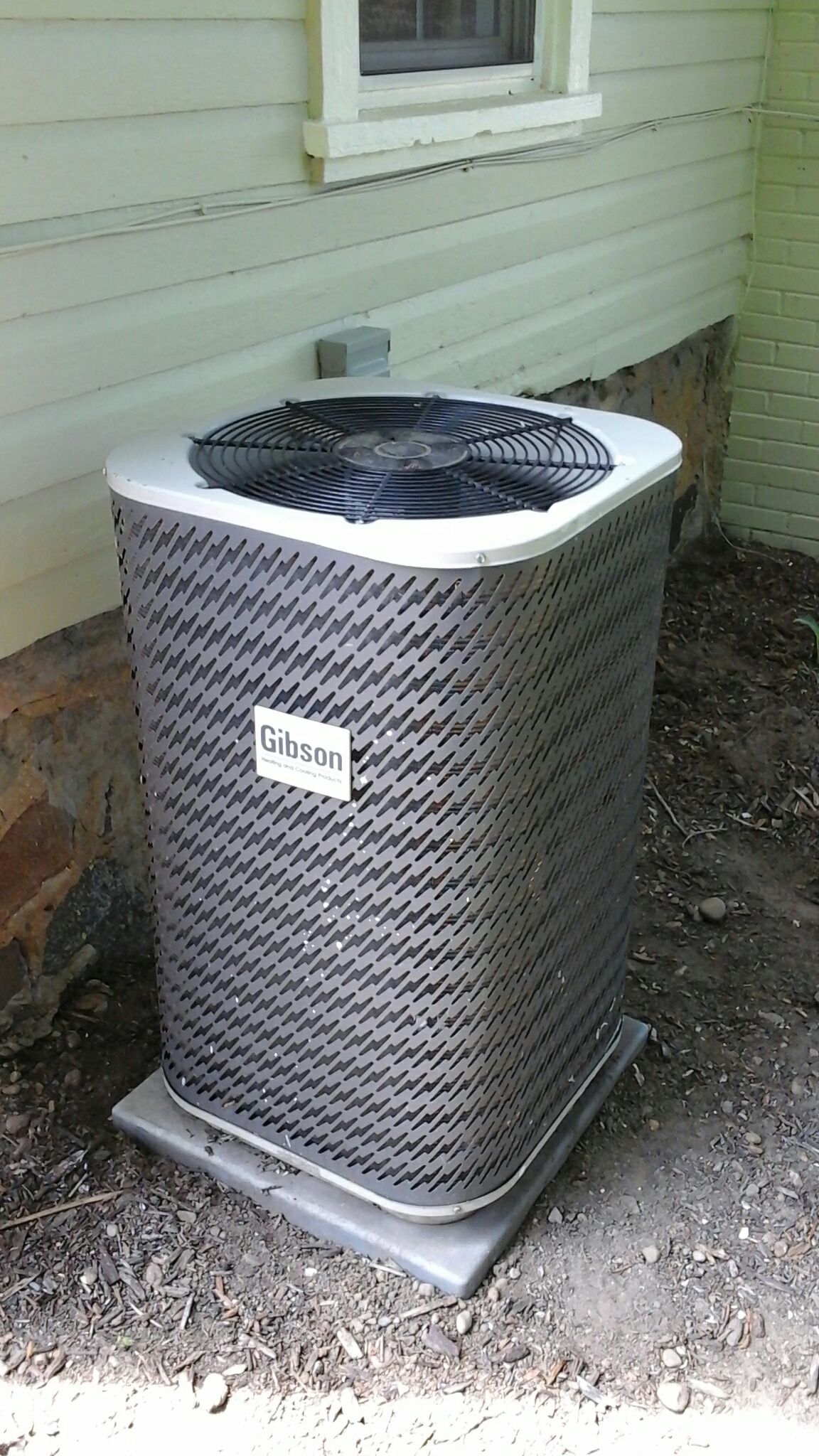 Concord, MI - Performed a precision tune-up on a Gibson air conditioning unit with R - 22 refrigerant.