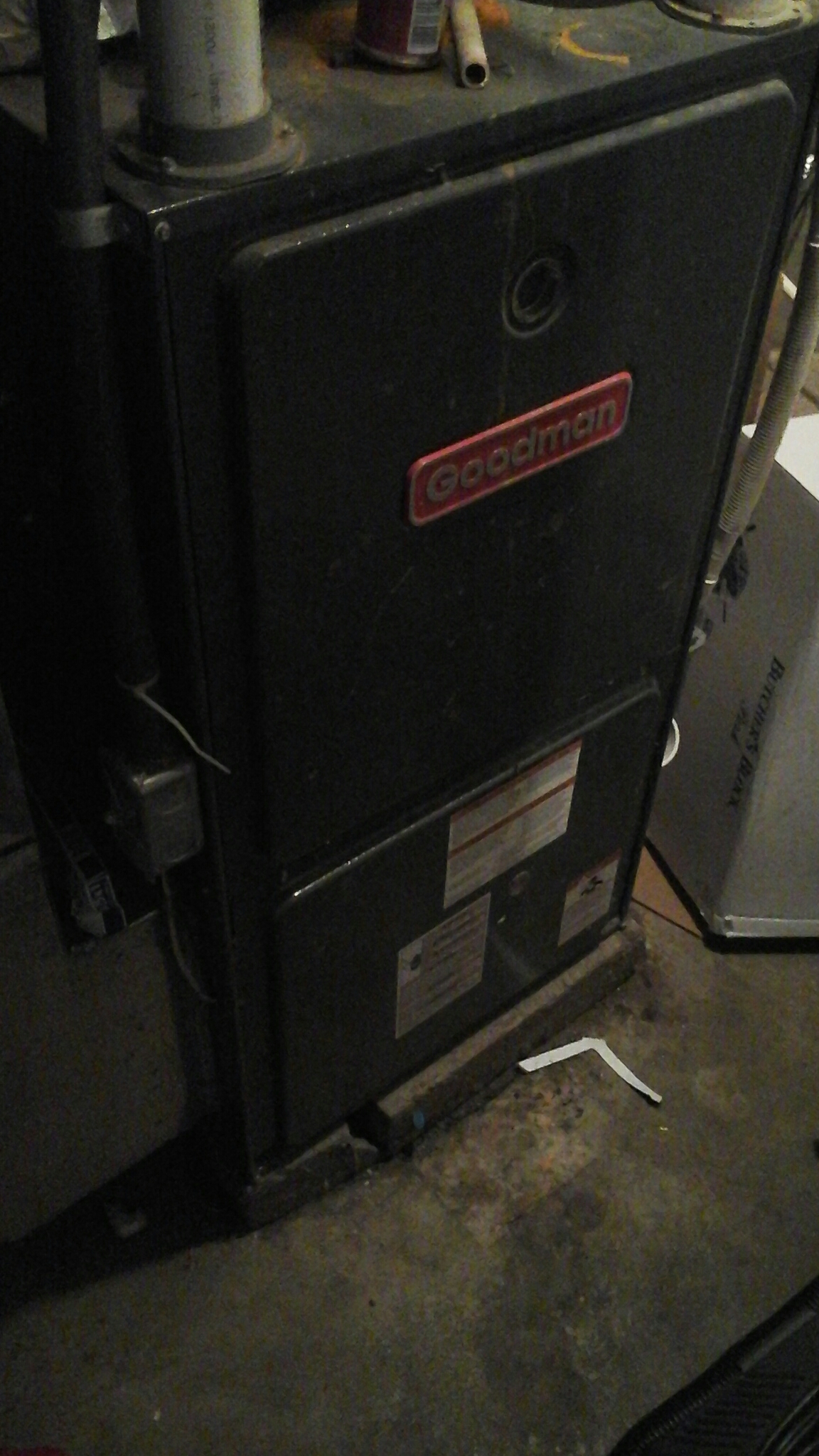 Concord, MI - Performed a precision tune-up on a Goodman furnace.