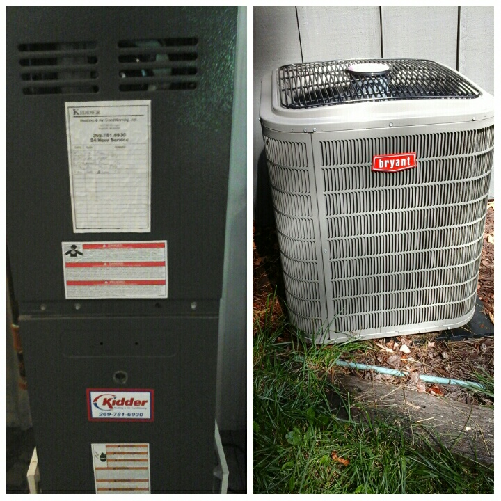 East Leroy, MI - Oil and gas furnace tune ups.