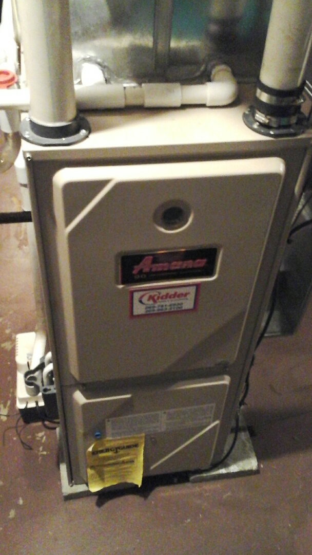 Ceresco, MI - Performed a precision tune-up on a Amana GUCA furnace.