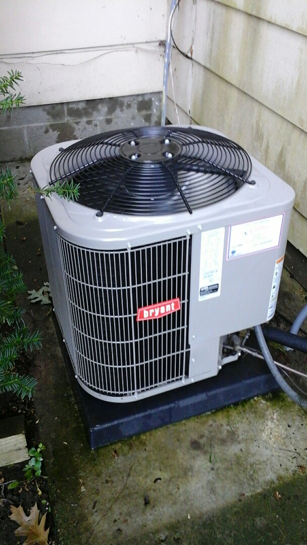 Tekonsha, MI - Performed a precision tune-up on a Bryant 113 ANA 024 air-conditioning unit with R410A refrigerant charge and 16 x25 ezflex media air filter.