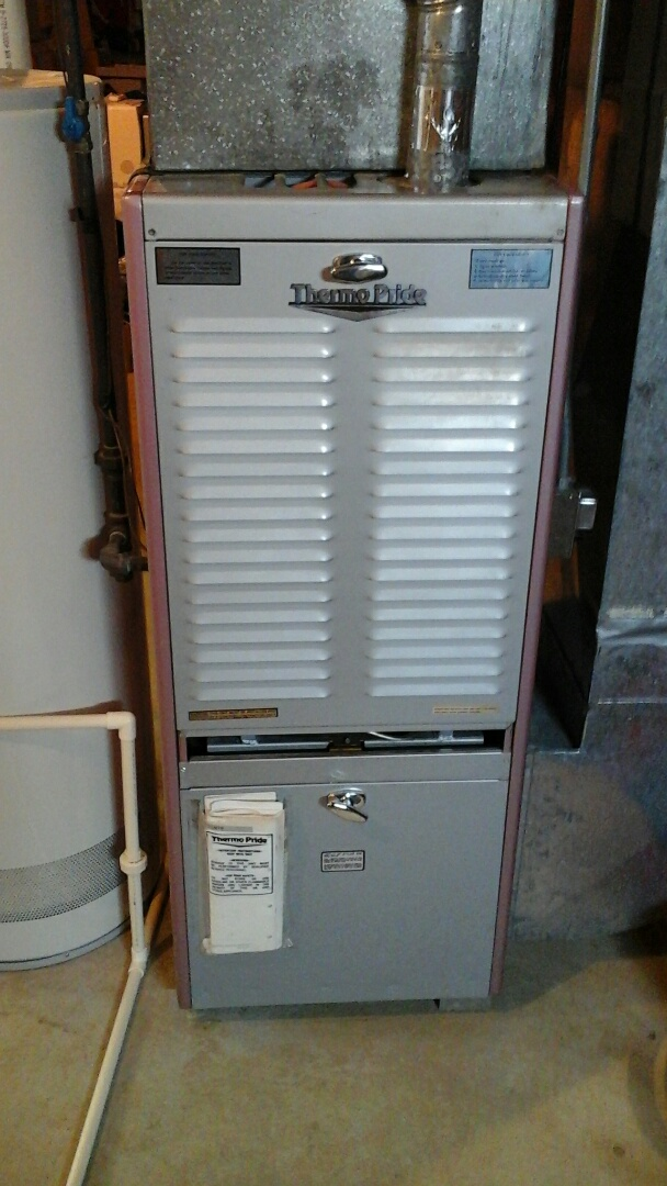 Tekonsha, MI - Performed a precision tune-up on a 80% thermo-pride furnace with spark ignitor.