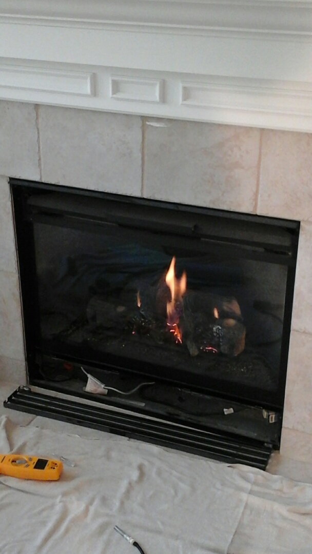 Galesburg, MI - Gas fireplace tune-up