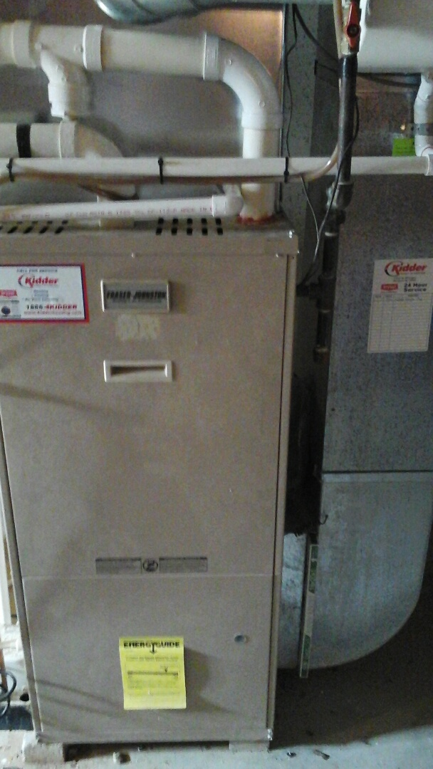Olivet, MI - Furnace blower repaired