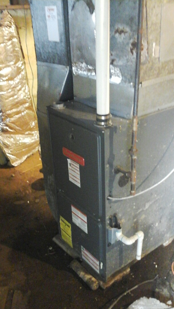 Homer, MI - Performed a precision tune-up on a Goodman 90% furnace with a 16 � 25 � 1 pleated air filter.
