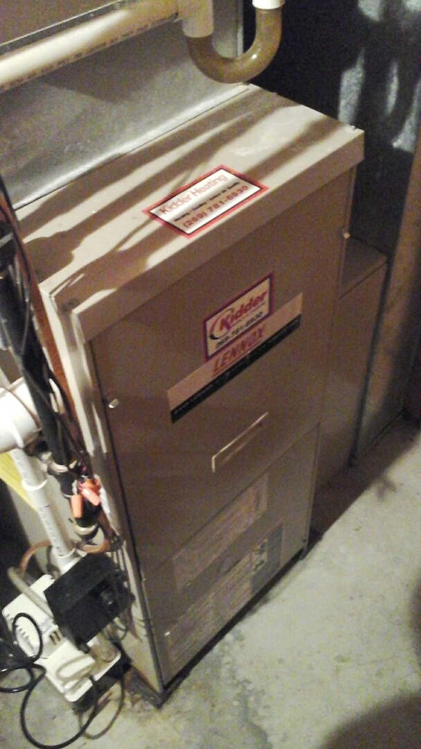 Bellevue, MI - Performed a precision tune-up on a Lennox G61MPV 90% furnace.