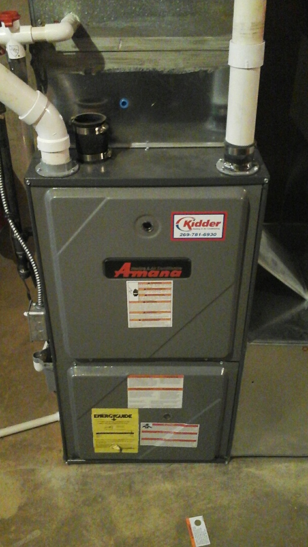 Coldwater, MI - Amana furnace making noise