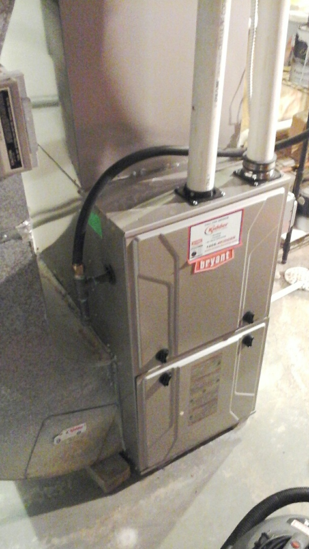 Albion, MI - Performed a precision tune-up on a Bryant 925SA 90% furnace.