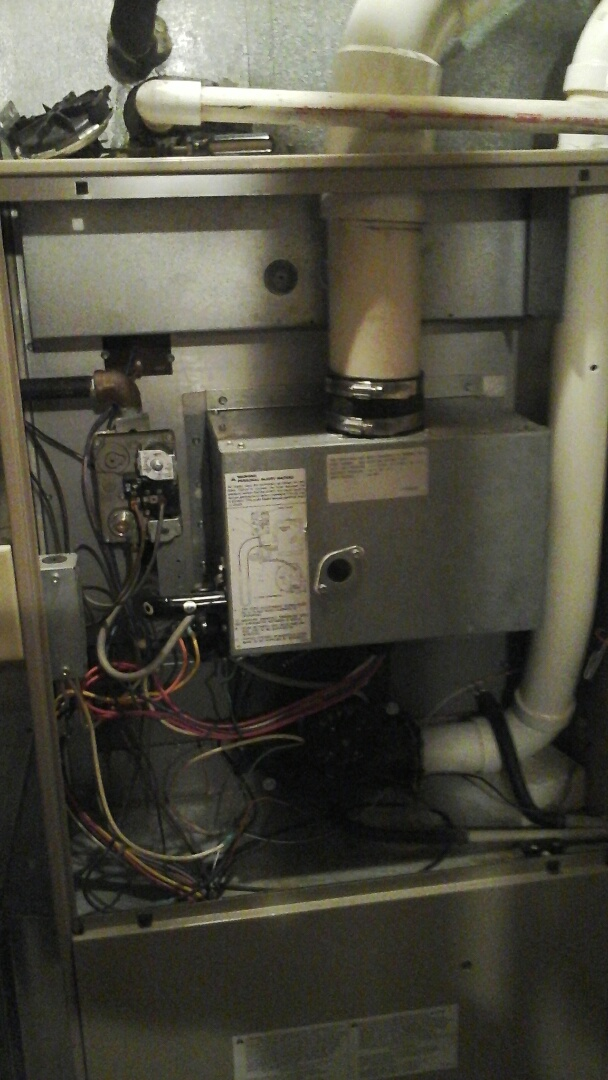 Burlington, MI - Amana inducer motor replacement
