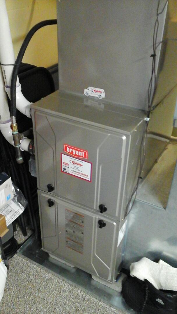 Galesburg, MI - Bryant furnace maintenance