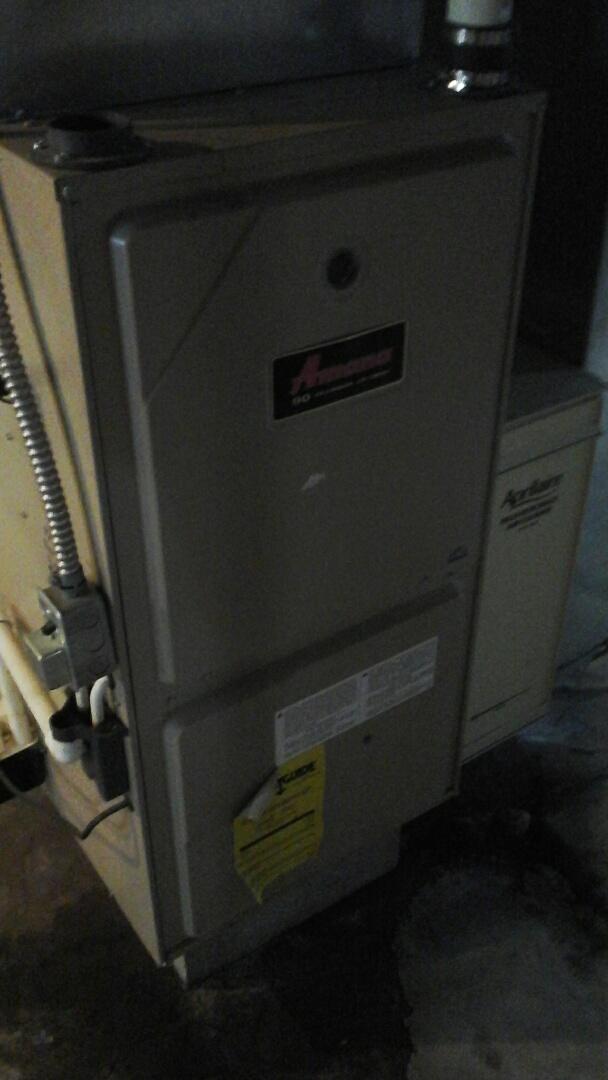 Albion, MI - Amana furnace winter maintenance
