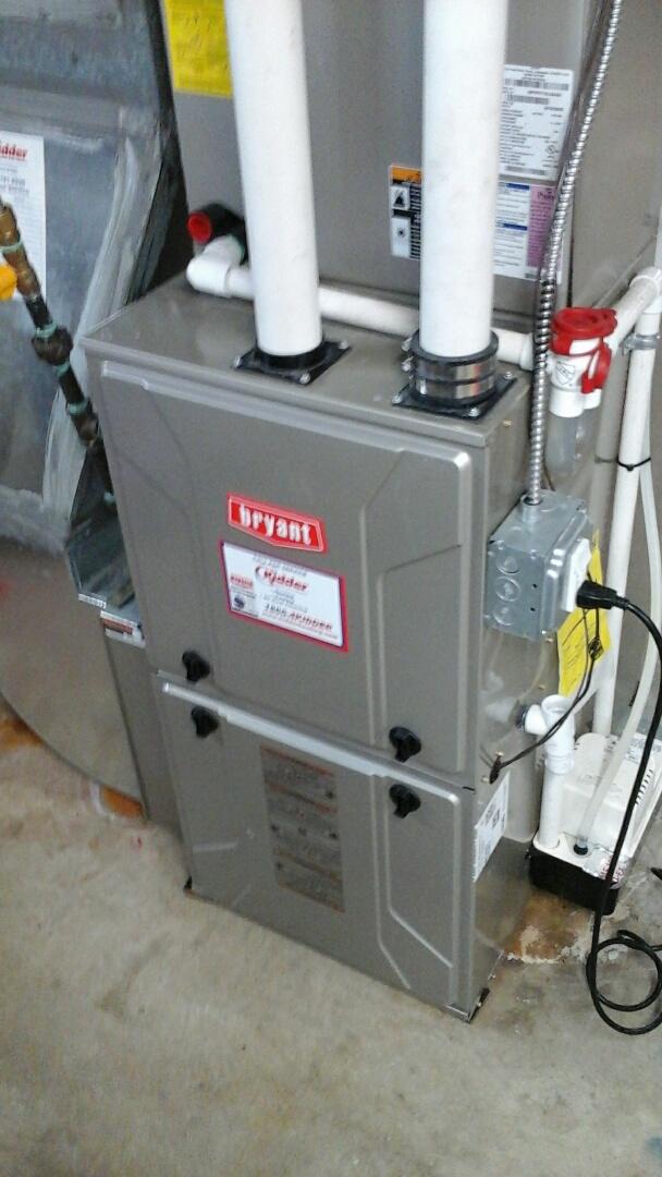 Albion, MI - Bryant furnace winter maintenance